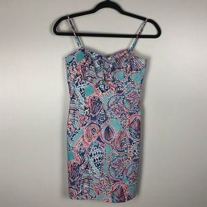 Lilly Pulitzer Dresses - Lilly Pulitzer | Petra Shell Me Out Mini Dress~0